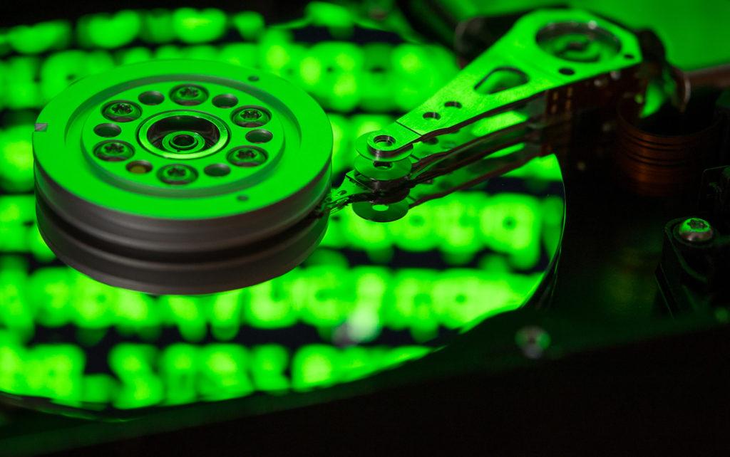 Festplatte: Bei der VDS müssen eine Menge Daten vorgehalten werden; Rechte: dpa/Picture Alliance
