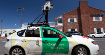 Spezialkamera für Google Streetview; Rechte: dpa/Picture Alliance