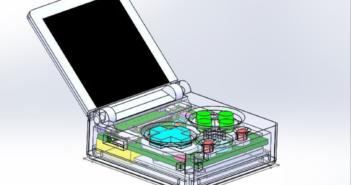 Keymu: Die kleinste Spielekonsole der Welt; Rechte: hackaday.io