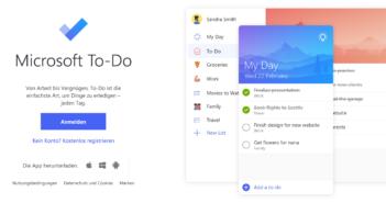 Microsoft Todo: Aufgaben online verwalten; Rechte: Microsot/WDR