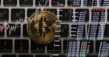 Kursentwicklung Bitcoin: Der Kurs hat sich rasant entwickelt; Rechte: dpa/Picture Alliance
