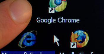 Googles Chrome-Browser ist auf immer mehr Geräten installiert; Rechte: dpa/Picture Alliance