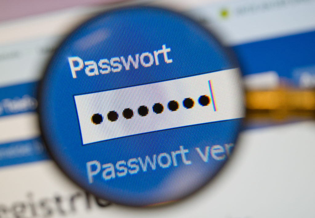 Passwörter sind unpraktisch: Nicht an jedem Gerät lassen sich Passwörter eingeben; Rechte: dpa/Picture Alliance