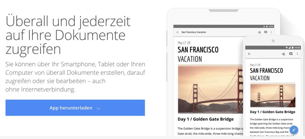 """Von wegen """"Überall und Jederzeit"""": Nur wenn Google will; Rechte: Google"""