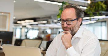Jimmy Wales: Erfinder von Wikipedia und Wikitribune; Rechte: Wikitribune
