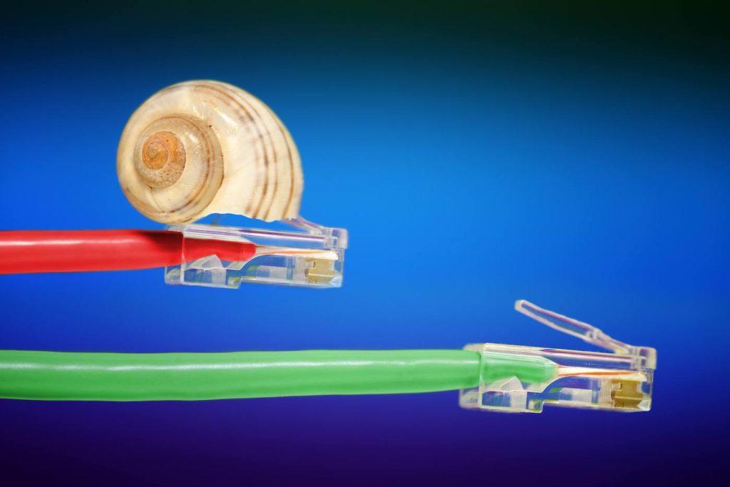 Ohne Netzneutralität gibt es langsame und schnelle Daten; Rechte: dpa/Picture Alliance