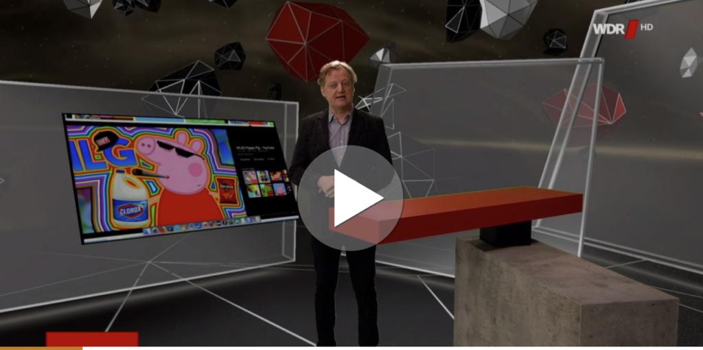 Werbung und schockierende Inhalte in YouTube Kids; Rechte: WDR