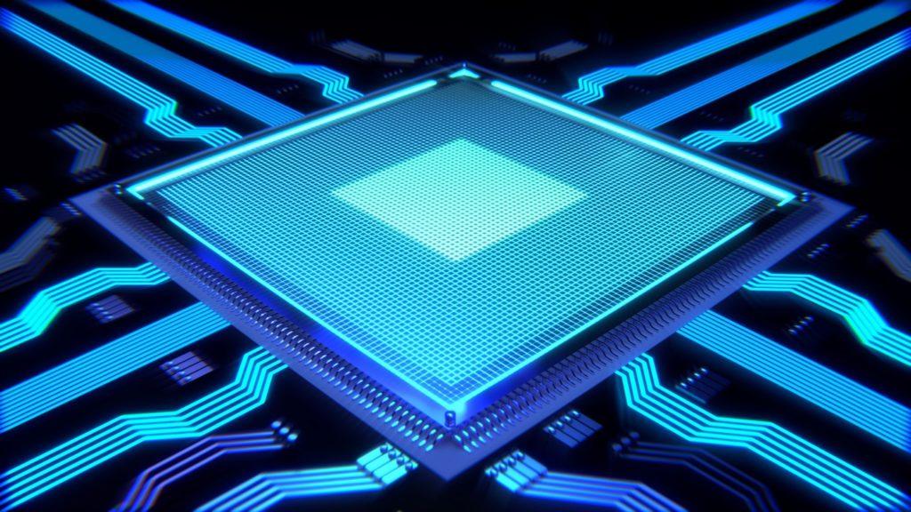 Prozessor mit vielen Datenleitungen; Rechte: Pixabay