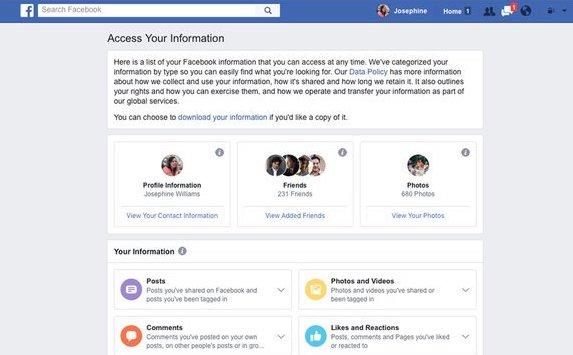 Facebook will künftig alle Sicherheitseinstellungen auf eine Seite packen; Rechte: Facebook