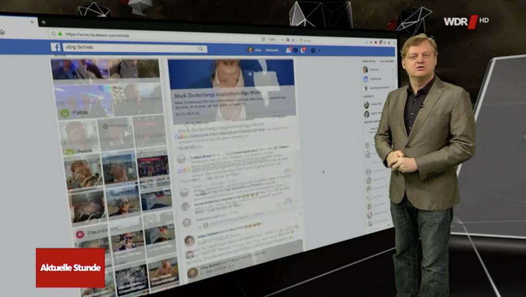 Angeklickt: Facebook und der Analytica-Skandal; Rechte: WDR/Schieb