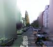 Verpixelte Häuseransicht in Streetview; Rechte: WDR