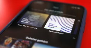 Spotify bietet jedem individuelle Playlisten an; Rechte: WDR/Schieb