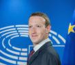 EU-Parlamentschef Antonio Tajani begrüßt Mark Zuckerberg zur Anhörung in Brüssel; Rechte: dpa/Picture Alliance