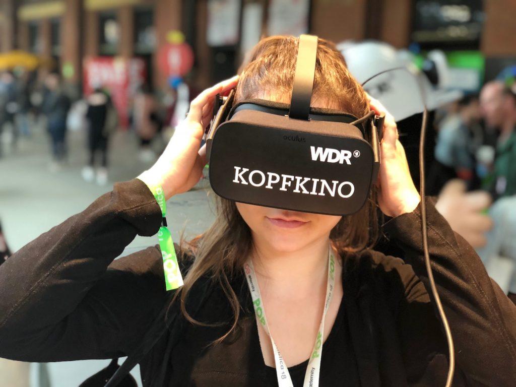 WDR Kopfkino: Virtuelle Welten laden ein; Rechtw: WDR/Schieb