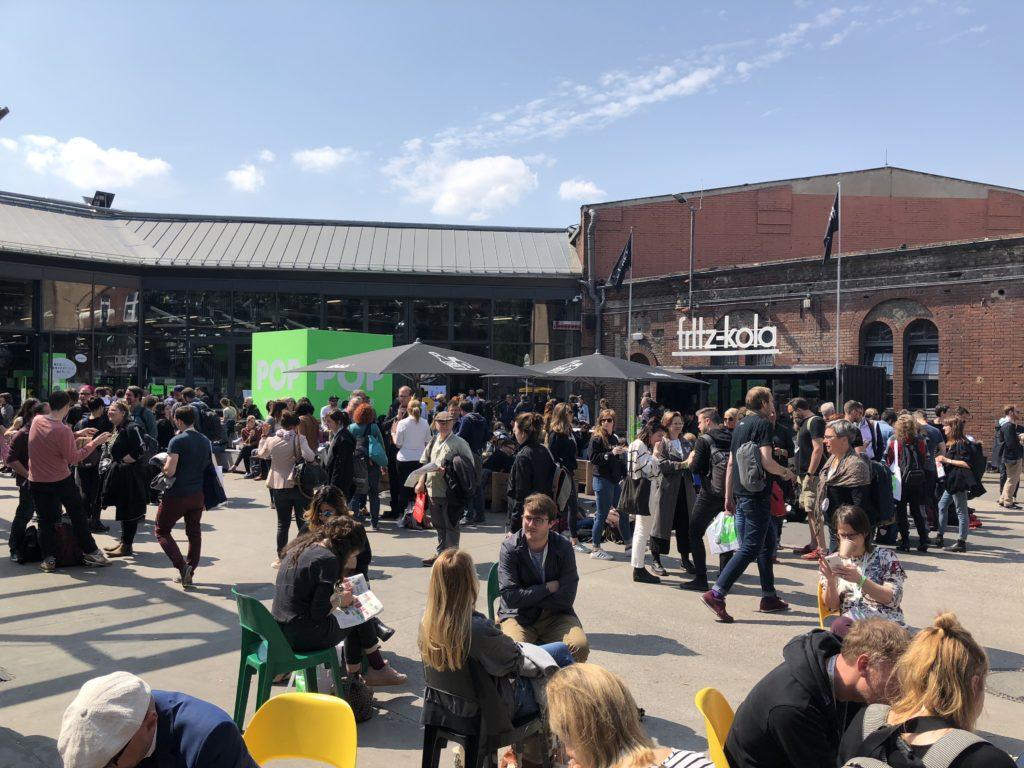 re:publica: 10.000 Besucher diskutieren über die Zukunft der Digitalen Gesellschaft; Rechte: WDR/Schieb
