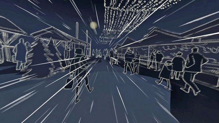 Berlin, Paris, Terror: VR-Projekt des WDF; Rechte: WDR