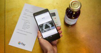 Mit Google Pay bezahlen; Rechte: Google/Hoederath