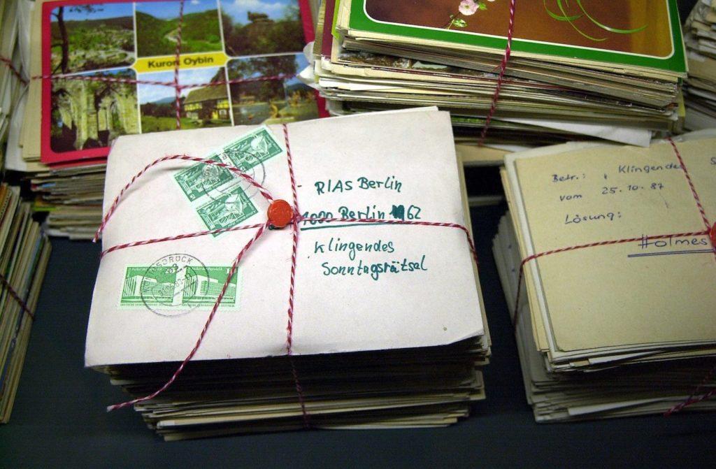 Briefe wurden in der DDR in der Regel vom Stasi-Mitarbeitern gelesen