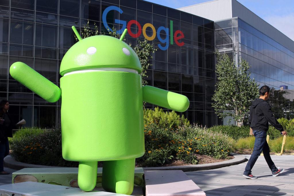Google Android Maskottchen; Rechte: dpa/Picture Alliance