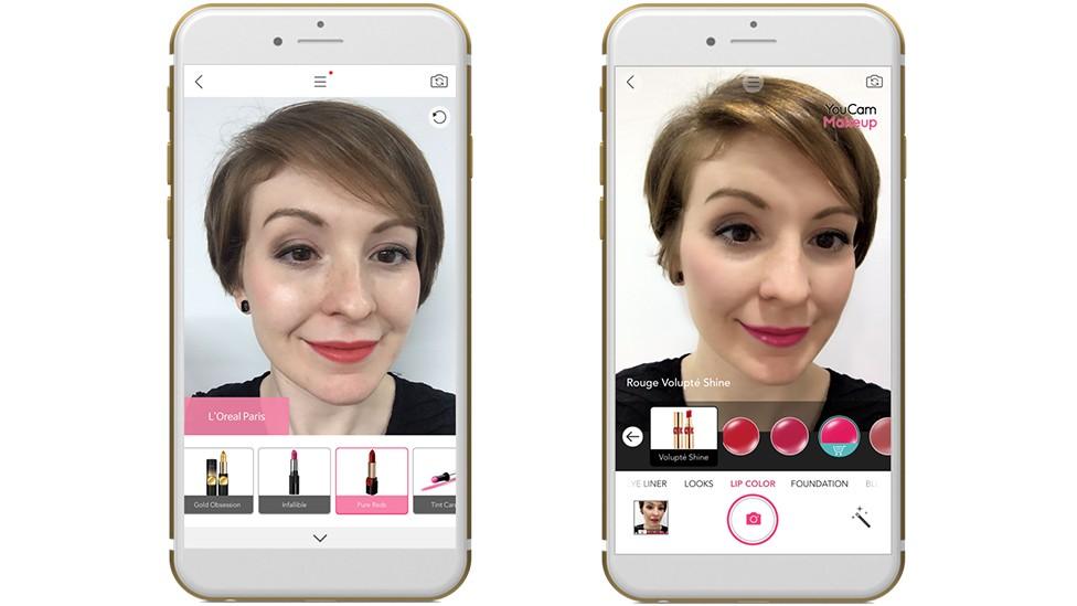 Augmented Reality Anwendung von L'Oréal; Rechte: L'Oréal