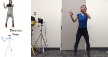 Tanzbewegungen werden auf Zielperson übertragen; Rechte: Universität Berkely