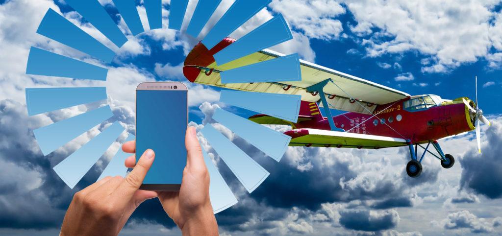 WLAN im Flugzeug: Immer mehr Flüge bieten das an; Rechte: Pixabay/WDR/Schieb