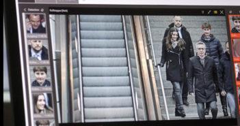 Am Berliner Südkreuz werden Passanten per Gesixhtserennung überwacht