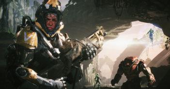 """Eine Szene aus dem Computerspiel """"Anthem""""."""