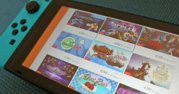 Der Nintendo eShop auf der Switch. (Bild: WDR | Thomas Ruscher)
