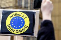 Artikel-13-Protestplakat