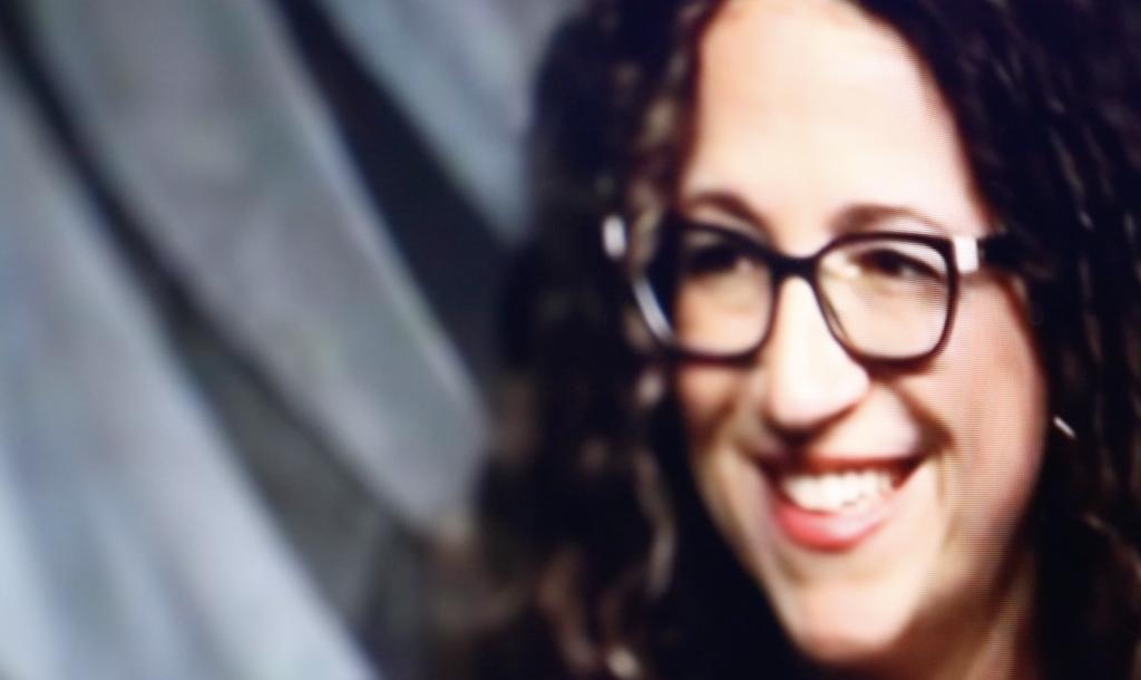 Amy Webb prognostiziert das Ende der Privatsphäre; Rechte: WDR/Schieb