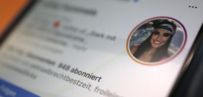 Cathy Hummels auf Instagram: Jede Menge Promotion ; Rechte: WDR/Schieb