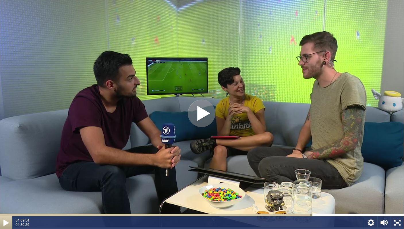 Videoplayer. Rechte: Sportschau | WDR