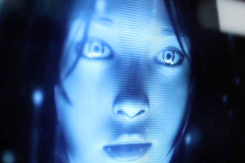 Microsoft Sprachassistent/in Cortana; Rechte: WDR/Schieb