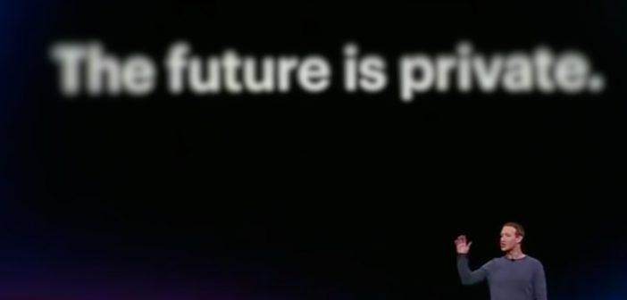 Mark Zuckerberg behauptet: The Future is Private; Rechte: WDR/Schieb