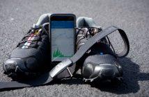 Herzfrequenz-Mess-Gurt, App und Laufschuhe. Quelle: picture alliance / Frank Duenzl