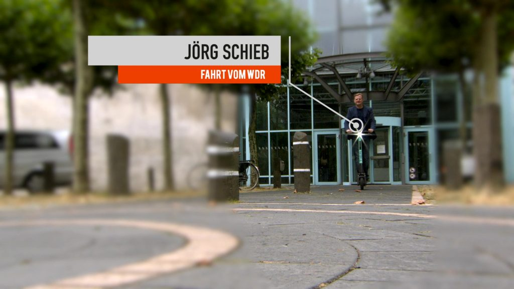 Wer eScooter fährt, hinterlässt einige Daten; Rechte: WDR/Schieb