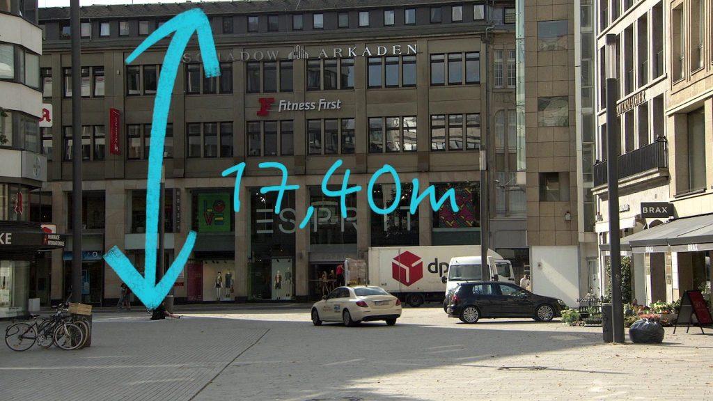 Apple vermisst Häuser und Straßen ganz genau per Laser; Rechte: WDR/Schieb