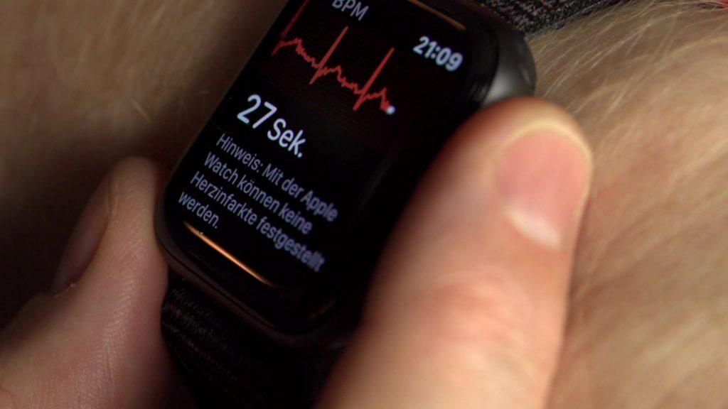 Selbst ein EKG eestellen: Durchaus sinnvoll; Rechte: WDR/Schieb