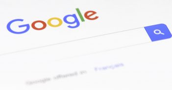 Google-Suchformular