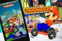 Mario Kart Tour auf einem Smartphone. Bild: WDR / Thomas Ruscher