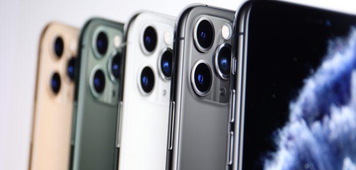 iPhone XI Pro mit 3 Linsen; Rechte: Apple/WDR/Schieb