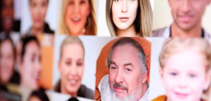 100.00 Fake-Gesichter; Rechte: WDR/Schieb