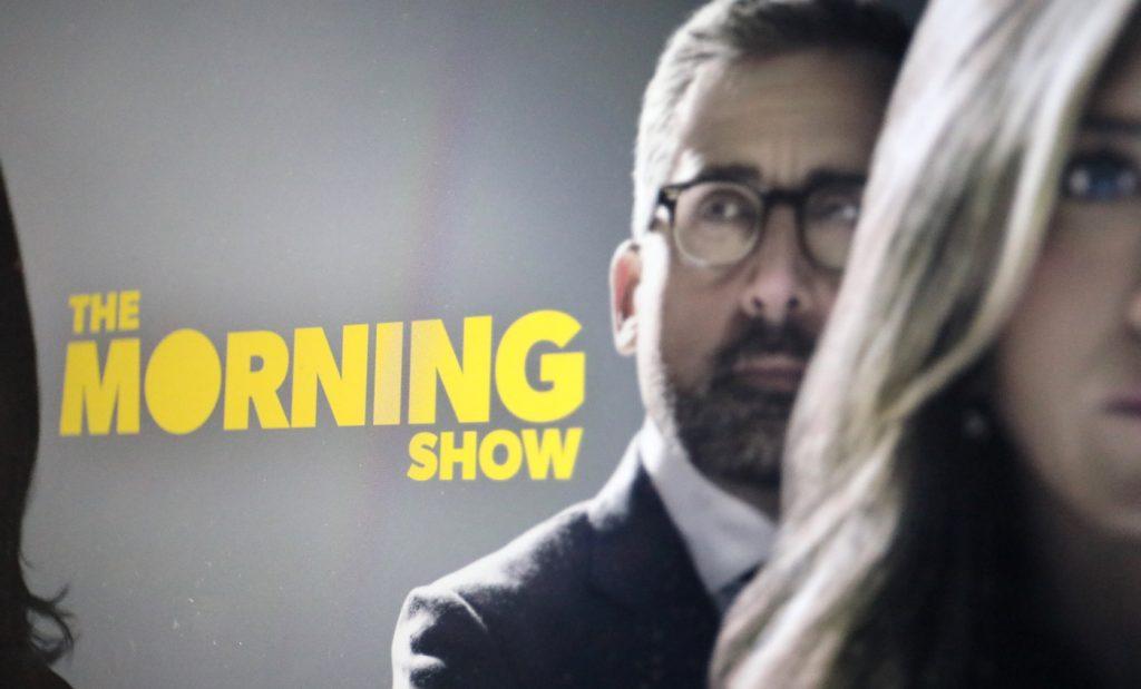 """Eigenproduktionen von Apple (""""The Morning Show""""); Rechte: WDR/Schieb"""