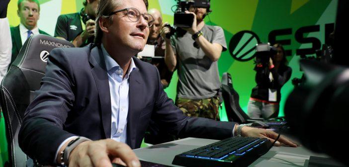 Andreas Scheuer auf der Gamescom 2019. Bild: picture alliance/Oliver Berg/dpa