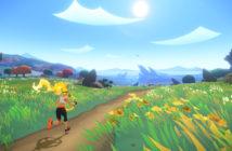 """Eine Szene aus dem Spiel """"Ring Fit Adventure"""". Nintendo/Ring Fit Adventure"""