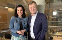 Staatsministerin Dorothee Bär und Jörg Schieb: Rechte: WDR/Schieb