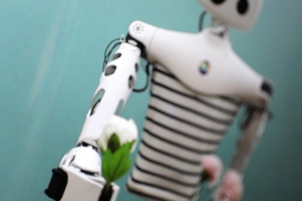 Roboter Reachy von einem französischen Startup; Rechte: WDR/Schieb