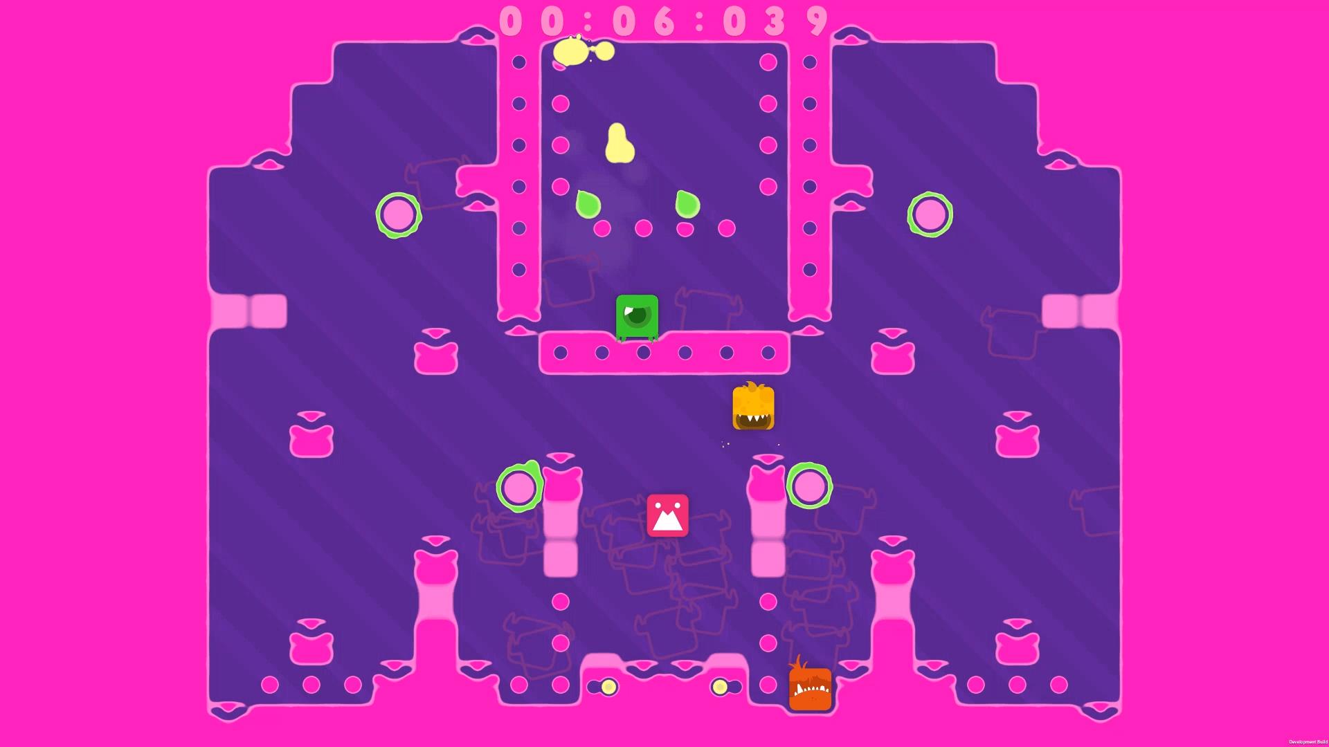 """Eine Szene aus dem Spiel """"Spitlings"""". Bild: Massive Miniteam/ Handygames"""