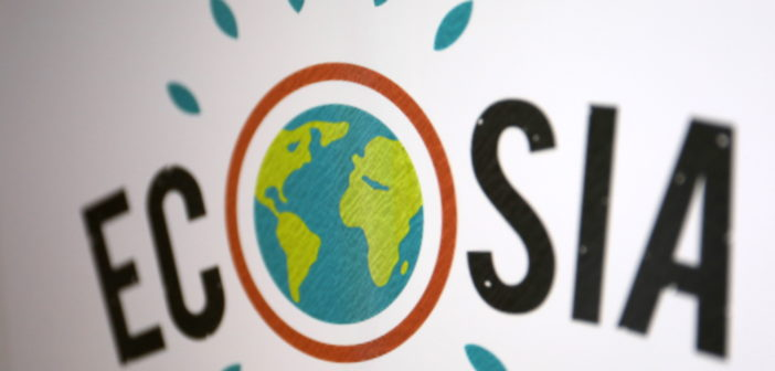 Ecosia Logo; Rechte: WDR/Schieb